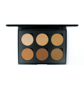 CONTOUR POWDER 6 WELL DARK